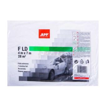 APP F HD Abdeckfolie 4 x 7m transparent 28 qm