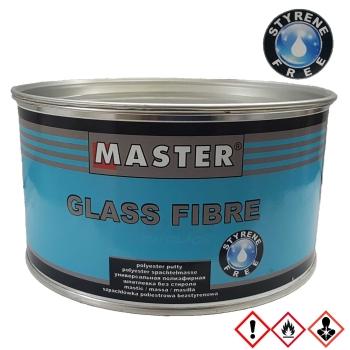 Master Troton Glasfaserspachtel styrolfrei weiss + Härter 1,8 kg (GFK / GRP)