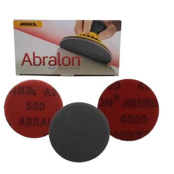 Mirka Abralon Exzenter Schleifscheiben P500 - P4000 Ø77mm