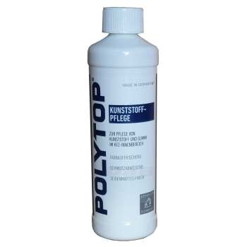 POLYTOP Kunststoffpflege mit Seidenmatter Glanz für den Innenbereich 500 ml