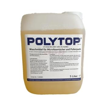 Polytop Waschmittel für Microfasertücher und Polierpads 5 L