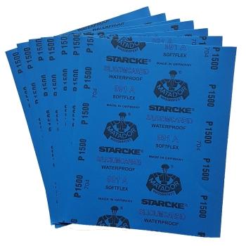 NASS Schleifpapier 50 x P 5000 für Autolack Wasserschleifpapier 230 x 280mm