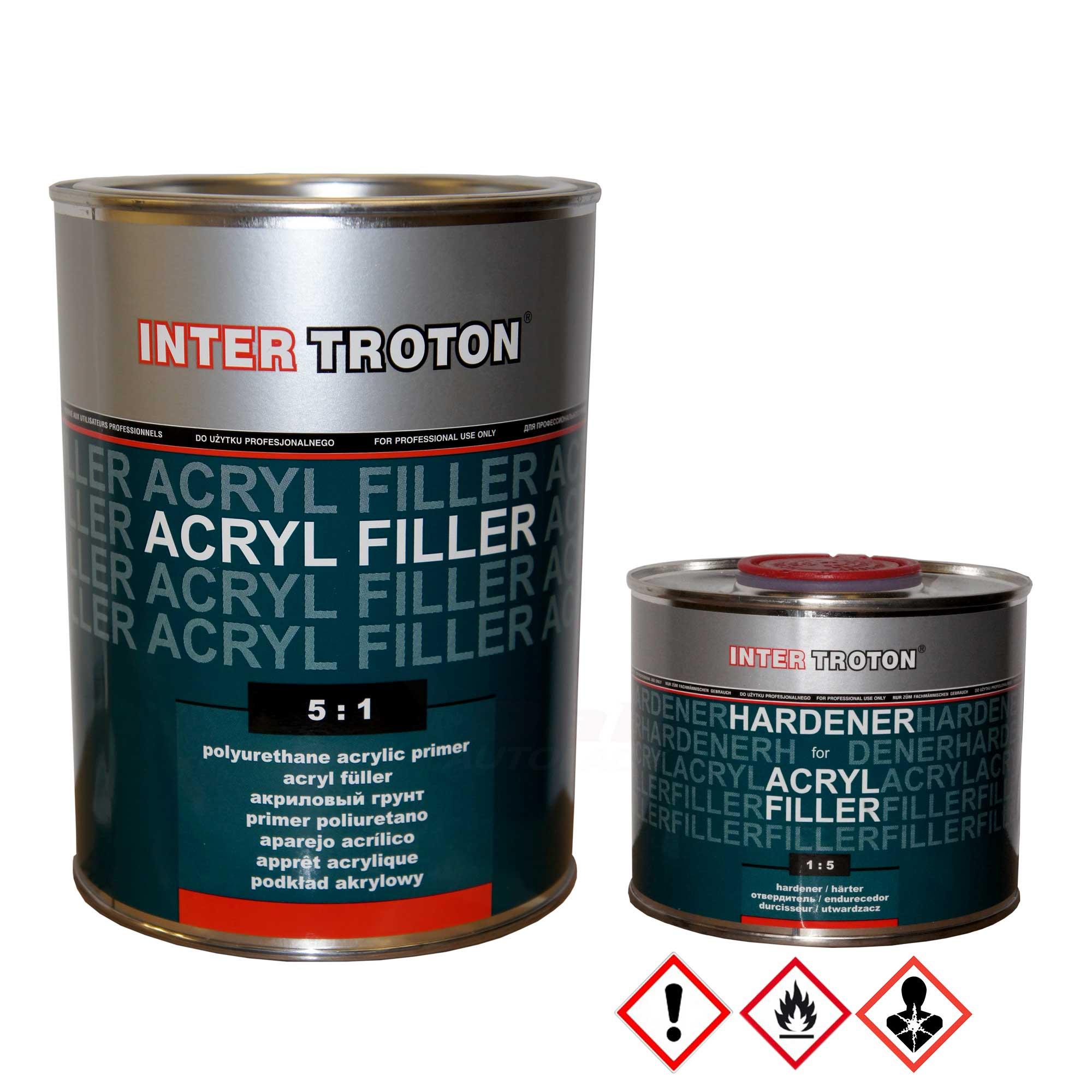 inter troton 2k hs acryl füller | dab autolack - dab-autolack shop